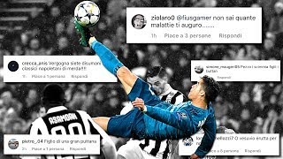 JUVENTUS 0-3 REAL MADRID | REACTION vs FIUS GAMER