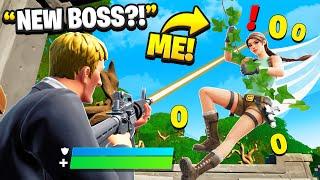 I Pretended To Be BOSS Lara Croft.. (Fortnite)