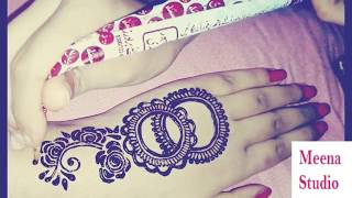latest arabic mehndi designs for left hand - मुफ्त