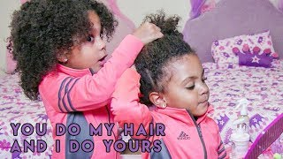 Download Youtube: TWINS STYLE EACH OTHERS HAIR! (BY THEMSELVES)