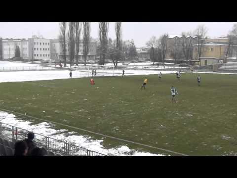 Skrót meczu Podlasie Biała Podlaska - JKS Jarosław 0-2 [WIDEO, BRAMKI]
