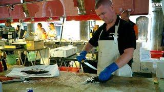 Rialto Fish Market in Venice - Italy