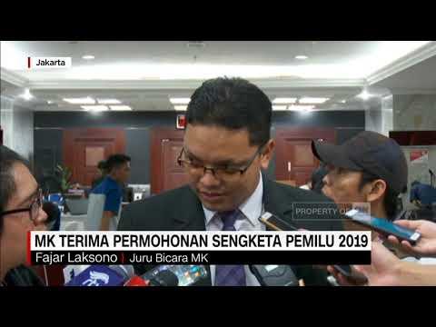 MK Terima Permohonan Sengketa Pemilu 2019