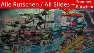 preview picture of video 'Best of Galaxy (Therme) Erding - Alle Rutschen & Sommerrutschen 2014 - Onride [Camcorder & Go Pro 3]'