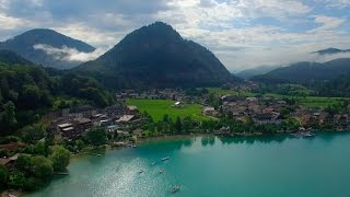 Hallstatt 4k Drone and Fuschl am See, Austria on our Digital Nomad Adventure Around the World