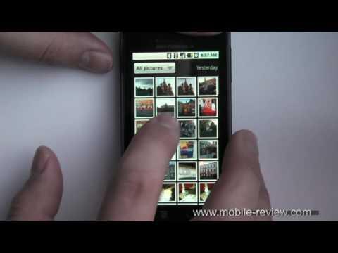 Youtube Video Motorola Milestone Vodafone Ware in schwarz