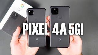 Google Pixel 4a 5G UNBOXING!