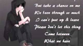 Jon Young - Take a chance on me (with lyrics)