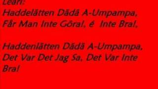 The Ark - Kolla kolla (Lyrics)