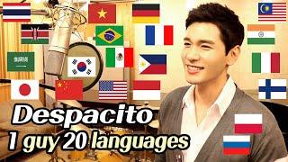 Despacito (Multi-Language Cover) 1 Guy Singing In 20 Languages - Travys Kim