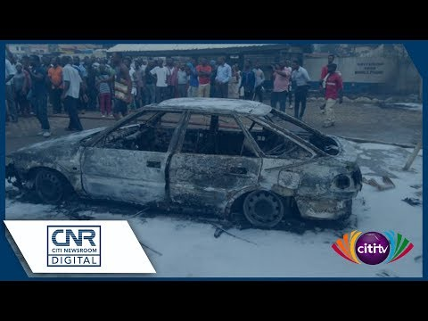 Cars, shops burnt in gas filling station explosion at Krofrom