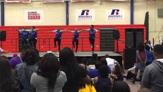 DSU 2015 Stroll Competition Phi Beta Sigma Fraternity Inc Gamma Upsilon Chapter 2x Champs
