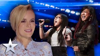 AMAZING mother & daughter duo blow the Judges away! | Britain's Got Talent