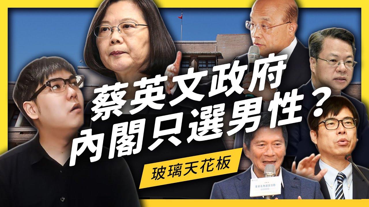 政見跳票?蔡政府選出史上最男內閣,為什麼被罵爆?| 志祺七七