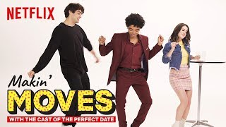 Noah Centineo & Odiseas Georgiadis Judge Laura Marano's Dance Skills | Makin' Moves | Netflix