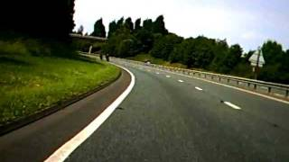 preview picture of video 'Early Morning Wirral Bikers Motorcycle Club Rideout'