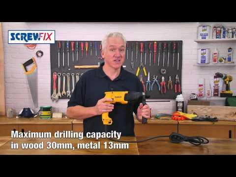 DeWalt D25033-SFGB  Corded  SDS Plus Drill 240V