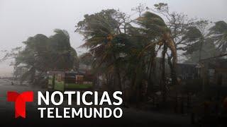 El huracán Iota arremete con toda su furia contra Nicaragua | Noticias Telemundo