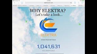 ELEKTRACOIN- an in depth look (part 1)