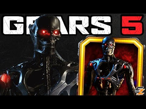 GEARS 5 Characters Gameplay - TERMINATOR REV 9 Character Skin Multiplayer Gameplay!