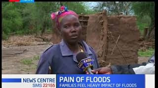 Cheptarit residents are counting losses after flash floods wreaked havoc in the area