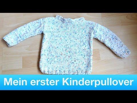 Mein erster Babypullover | Kinderpullover stricken