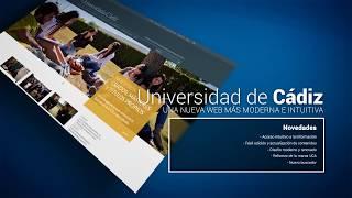 Presentación Web Universidad de Cádiz