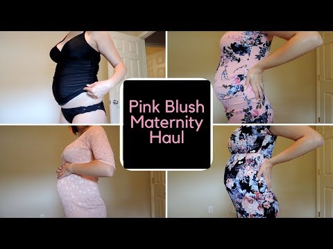 Pink Blush Maternity Haul/Review