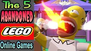 5 Failed/Abandoned Lego Online Games