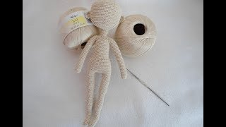 How To Crochet Doll Body  Crochet