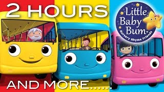 Wheels On The Bus | Little Baby Bum | Part 2 Compilation | Nursery Rhymes for Babies