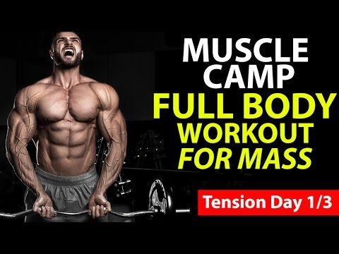 Full Body Workout For Mass (TENSION DAY) Mp3