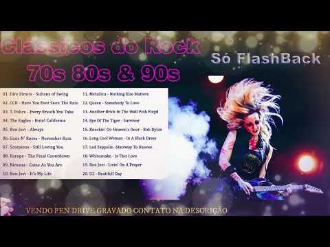 Músicas Internacionais Clássicos do Rock 70s-80s-&-90s