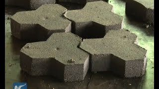 Waste To Wealth : Recycled Plastic Paving Stone