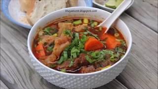 Bò Kho - Vietnamese Beef Stew