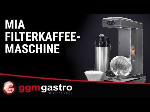 Filterkaffeemaschine FKMC22 - Seria Mia - GGM Gastro
