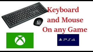 ps4 keyboard and mouse adapter - TH-Clip
