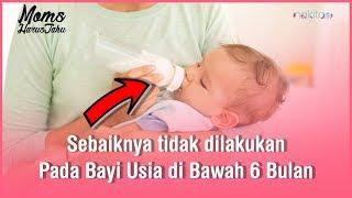 5 Hal Ini Sebaiknya Dihindari Saat Merawat Bayi di Bawah 6 Bulan