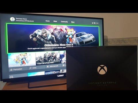 Xbox One X è nelle nostre mani – unboxing e recensione
