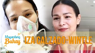 Iza Calzado clarifies her husband Ben Wintle's situation as a person under monitoring (PUM) and shares the harrowing experience of her battle with COVID-19.   Subscribe to the ABS-CBN Entertainment channel! - http://bit.ly/ABS-CBNEntertainment  Watch your favorite Kapamilya shows LIVE! Book your tickets now at http://bit.ly/KTX-MagandangBuhay  Watch the full episodes of Magandang Buhay on TFC.TV   http://bit.ly/MagandangBuhay-TFCTV and on iWant for Philippine viewers, click:  http://bit.ly/MagandangBuhayiWant  Visit our official websites!  https://entertainment.abs-cbn.com/tv/shows/magandangbuhay/main http://www.push.com.ph  Facebook:http://www.facebook.com/ABSCBNnetwork Twitter:https://twitter.com/ABSCBN Instagram:http://instagram.com/abscbn  Watch more Magandang Buhay videos here: Highlights - http://bit.ly/MagandangBuhayHighlights Momshie Advice - http://bit.ly/MomshieAdvice Yummy Recipes - http://bit.ly/MagandangBuhayRecipes Business Ideas - http://bit.ly/MagandangBuhayBusinessIdeas  #ABSCBNMagandangBuhay #MagandangBuhay