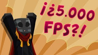 Minecraft a 5000 FPS