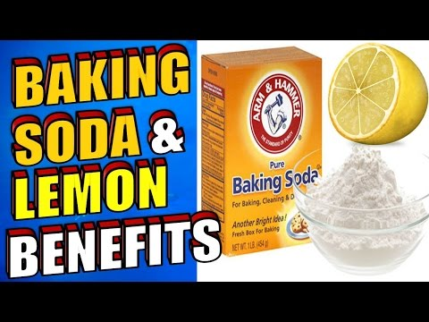 Video The Amazing Benefits of Baking Soda & Lemon Juice for Acne, Cancer & Teeth Whitening