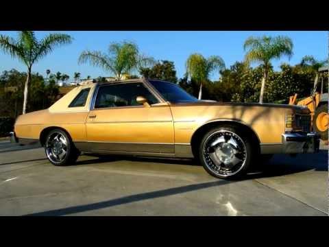 "1977 Pontiac Bonneville Brougham Landau Sunroof W/ 20"" Iron Cross Wheels Update"