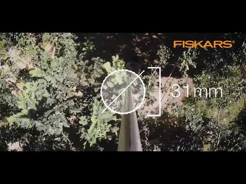 Fiskars PowerGear X UPX86 snoeigiraffe
