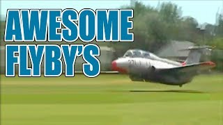 Low Flyby Jets and Jet Flyovers | Flyby Compilation