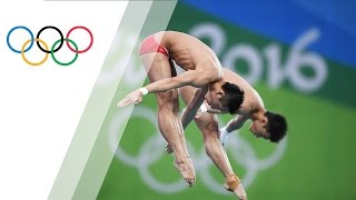 Chinese pair wins Men's Synchronized Diving 10m gold