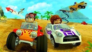 Машинки Гонки Андре на Beach Buggy Racing - Мультик игра для мальчиков