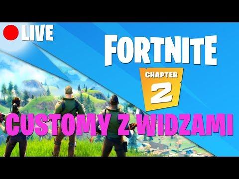 ⭐️CUSTOMY Z WIDZAMI⭐️SOLO⭐️DUO⭐️SQUAD⭐️STREFY⭐️#fortnite #customy #polska #live