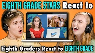 BO BURNHAM AND ELSIE FISHER REACT TO EIGHTH GRADERS REACT TO EIGHTH GRADE - Video Youtube