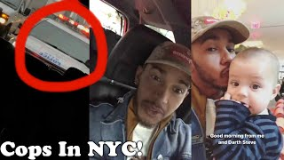 STOPPED BY POLICE (COPS) IN NYC?? 🚓 👮 | Lewis Hamilton Vlogs